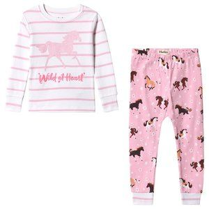 Hatley Girls' Organic Cotton Pajama Set, Size 12